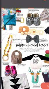 CupcakeMag Babies Wish List
