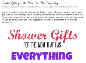 Shower gifts Blog 1